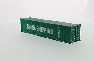 1:50 scale 40' Dry Sea Container - Green Die-cast Model - DM91027C
