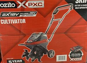 OZITO CULTIVATOR CORDLESS 2X18 V ideal for cultivating and aerating SKIN ONLY