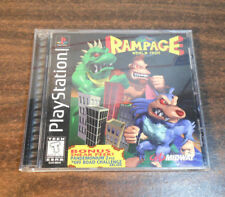 Rampage World Tour For Sony PlayStation 1 PS1 - Complete