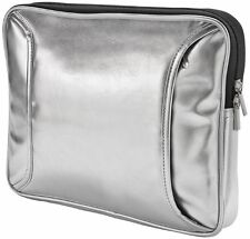 TRUST SILVER FINISH BLING BLING NETBOOK TABLET SLEEVE, FABULOUSLY GLAMOROUS!