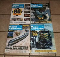 Model Railroader January February March April 1994 Magazines LOT OF 4 trains