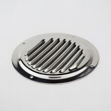 """SS.Stop Rust 5"""" Round Louvre Air Vent Ventilation Ventilator Grille Cover Single"""