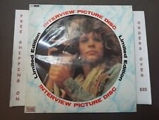 BON JOVI LIMITED EDITION INTERVIEW PICTURE DISC UK IMPORT LP
