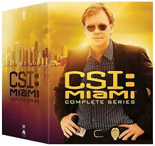 C.S.I. MIAMI 1-10 2002-2012 COMPLETE David Caruso CSI  Seasons Series NEW DVD R1