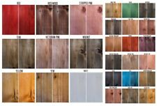 INTERIOR SOLVENT FREE WOOD STAIN - ODOUR FREE - & EASY USE WOOD STAIN DYE