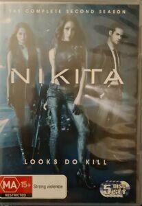 Nikita : Season 2 (DVD, 2013, 5-Disc Set)