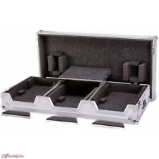 DeeJay LED Fly Drive Case for Two Pioneer CDJ Players + DJM Mixer + Laptop Shelf