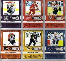 2000/01 PACIFIC McDONALDS DIAL-A-STATS COMPLETE 6 CARD SET