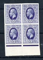 GB KGV 1912 International Stamp Exhibition 1d violet imperf MNH block WS13565