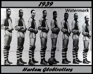 1939 Harlem Globetrotters Black & White Team Picture 8 X 10 Photo Picture