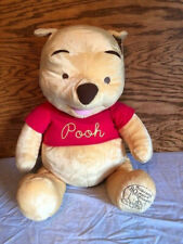 "Fisher Price Winnie the Pooh Stuffed Plush Animal 24"" Celebrating 80 Years 2005"