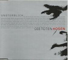 DIE TOTEN HOSEN UNSTERBLICH DUB & VIDEO Europe CD single SEALED USA seller 2000