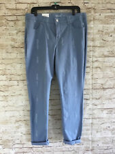 Style&co. Curvy-Fit Skinny Pants Colored Wash Size 14 #1111