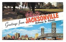 (E) Greetings From Jacksonville, Gateway to Florida