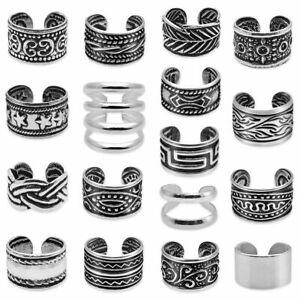 Ohrklemme / Ohrclip aus 925 sterling Silber Ohrringe Ohrstecker Fake Piercing