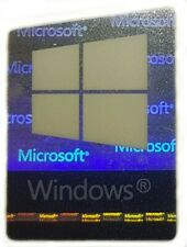 GENUINE MICROSOFT WINDOWS 10 STICKER LOGO AUFKLEBER 16x22mm