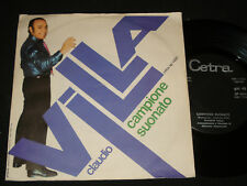 CLAUDIO VILLA P/S 45 – BIANCHI CRISTALLI SERENI - CETRA - SP 1450 Italian pop