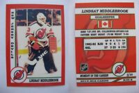 2015 SCA Lindsay Middlebrook New Jersey Devils goalie never issued produced #/10