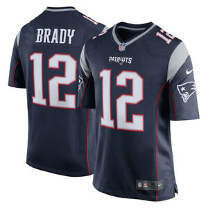 Nike NFL Youth New England Patriots Tom Brady #12 Game Jersey