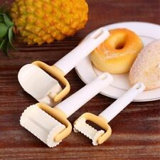New 3pcs Square Biscuit Pastry Cookie Mould Cutter Fondant Cake Decor Mold Tool