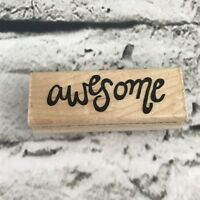 JRL Design Rubber Stamp Awesome