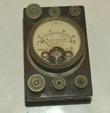 EARLY 1900's HOYT VOLT/AMMETER VERY NICE
