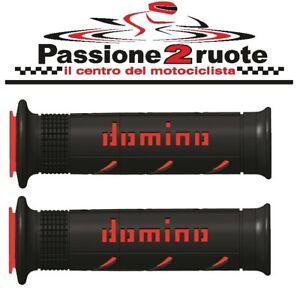 Poignée Domino XM2 Noir Rouge Honda Dominator Shadow Transalp Varadero VFR VTR