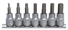 Insert, innen-6-kant Allen 3/8 7 pièces sur métal Rails BGS