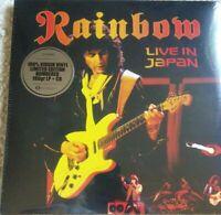 Rainbow - Live in Japan 1984 Budokan  3 Vinyl LP + 2 CD Lim Numbered NEU  NEW