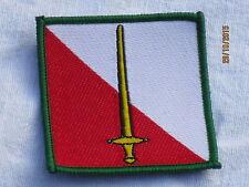 42th North Western Brigade, TRF, Stoffabzeichen,Patch