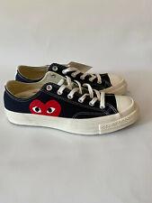 Comme des Garcons Play Converse Sneakers Black Lo-Top