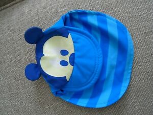 Disney Baby Boy 0 – 3 Months Blue Mickey Mouse Sun Hat