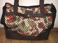 Barbour Wax leather Shoulder Shopper Weekend Holiday Brown New Designer Beach