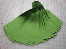 """Jelly Roll-""""Grass Green"""" Kona Cotton By Robert Kaufman-20-2-1/2"""" x WOF Strips"""