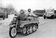 WWII Photo German Kettenrad Winter 1943  WW2 World War Two Wehrmacht  / 2112