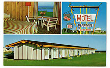 Ste.-Anne-des-Monts Gaspe Hotel-Motel Beaurivage Postcard c1950