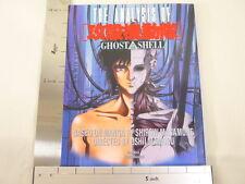 Ghost In The Shell Koukaku Kidoutai Art Illustration Book w/poster *