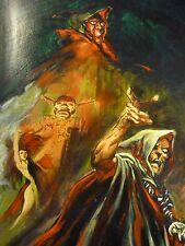 John Sinclair Originalzeichnung Titelbild Sammelband von MEHMET  Bastei-Verlag