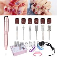 20000RPM Pro Electric Manicure Nail Art Machine Tool Pedicure Drill File Set Hot