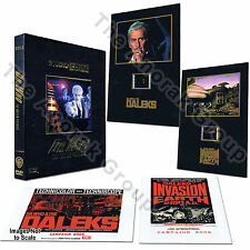 2x Doctor Who Invasion Earth 2150 Peter Cushing Movie Box+Cells+Booklets *NO DVD
