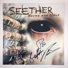 Seether Signed Autographed Karma And Effect 12x12 Photo COA