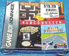 Namco Museum Ms. PAC-MAN GALAGA Nintendo Game Boy Advance GBA New Sealed NES