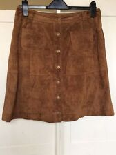 River Island Suede A-line Skirts for Women