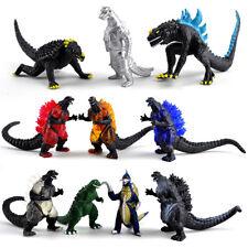 10PCs Mini Godzilla Dinosaur Toys Action Figure New Kid Gift Movie Decor Monster