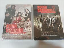 ROMA CRIMINAL TEMPORADAS 1 + 2 SERIE TV COMPLETA 7 DVD ESPAÑOL ITALIANO NUEVAS
