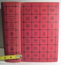ANTIQUE COOKBOOK_HOUSEHOLD_FARM_PERFUMES_HOMEOPATHIC_ CAKES CANDIES 1,205 PAGES