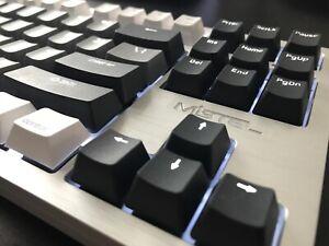 Mistel TKL Mechanical Keyboard for Mac Apple OS Aluminum Backlit Cherry MX Black