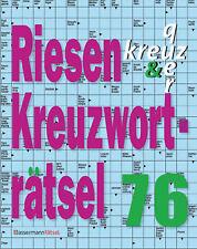 Eberhard Krüger - Riesen-Kreuzworträtsel. Bd.76