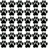 Katzen- Hunde Pfoten Kitty 36 Aufkleber Sticker jeder 3X3cm!