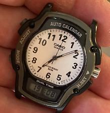 Casio 2318 AW-24 Dual Time Quartz Analog Digital Men's Watch Used new battery